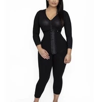 women bodysuit postpartumtummy control shapewear long sleeve full body faja with bra fajas colombianas cinta modeladora corset