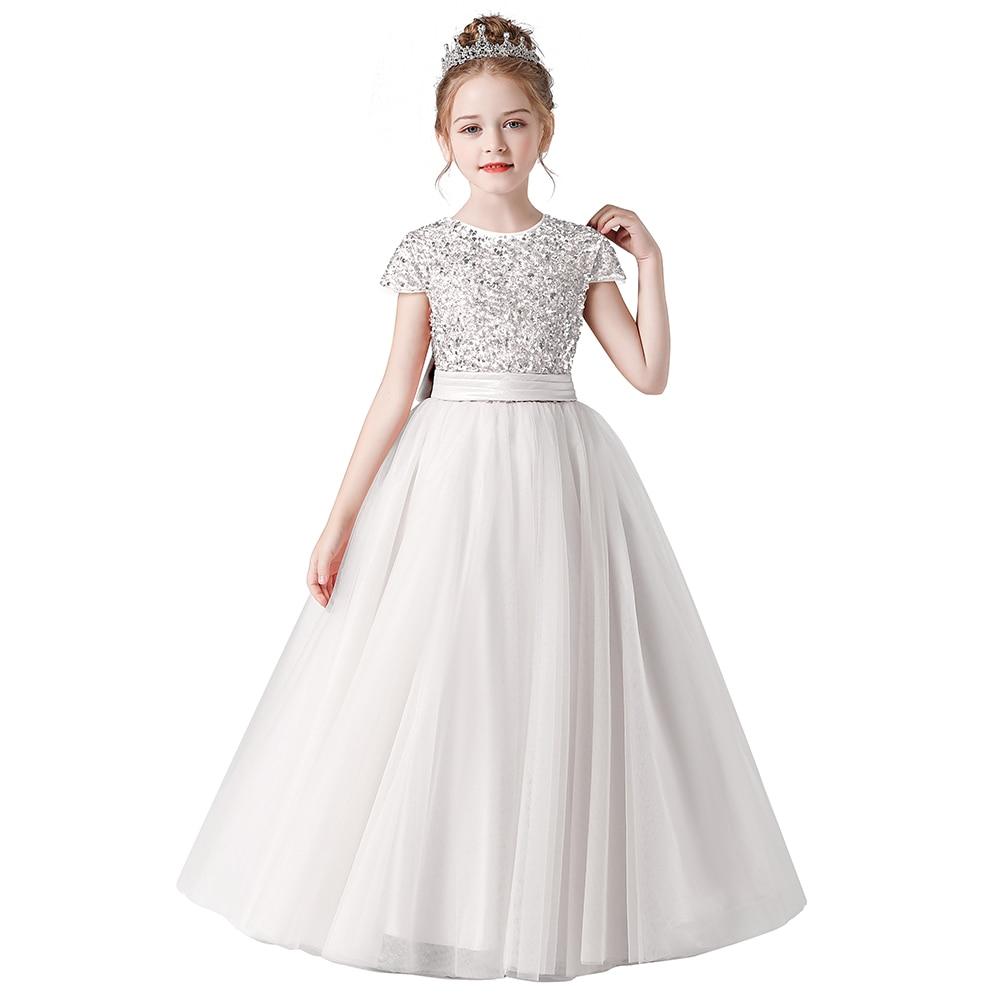 м мадера долина эдельвейсов и день рождения принцессы Кружевные Платья с цветочным рисунком для девочек на свадьбу, день рождения, детское официальное платье с бантом, бальное платье принцессы ...