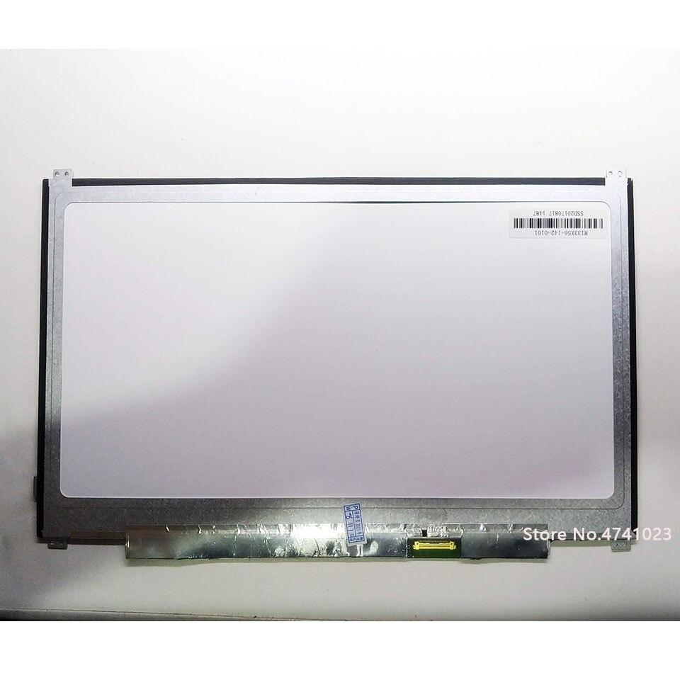 "13,3 ""nueva matriz M133X56-142-0101 ordenador portátil FHD IPS LCD LED pantalla 30PIN Panel reemplazo"