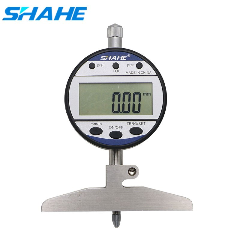مؤشر العمق الرقمي ، 0-100 مللي متر ، 0.01 مللي متر ، 5318-100 SHAHE