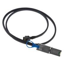 External Mini SAS SFF-8643 to Data SFF-8088 Server Raid Card Cable Line 0.5m