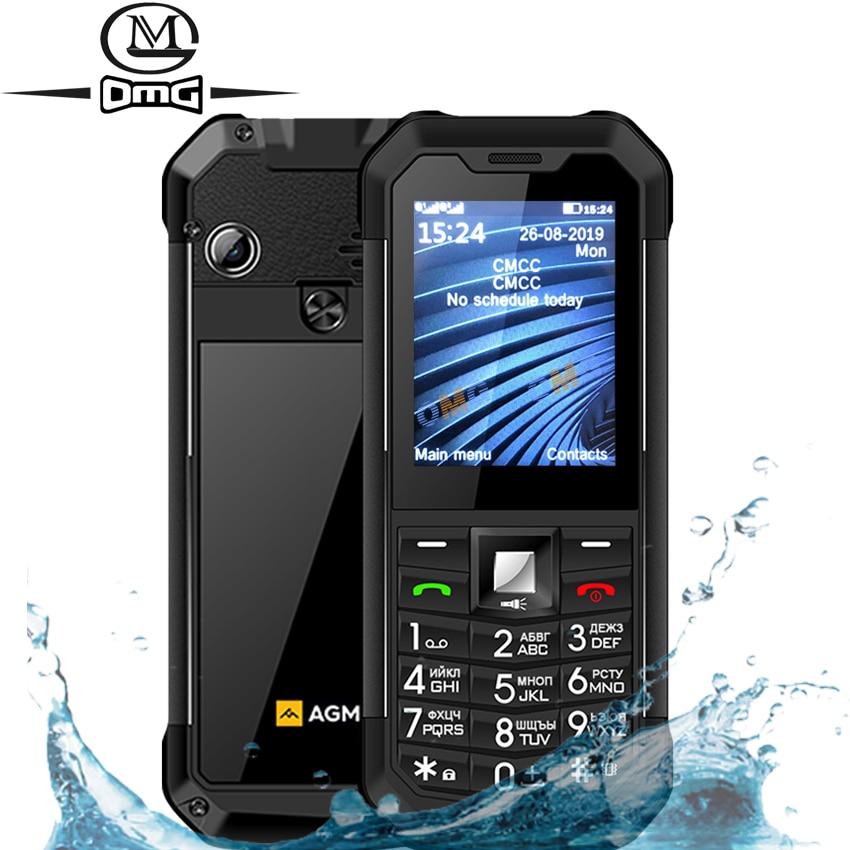Original AGM M3 Russian keyboard Rugged IP68 Waterproof shockproof mobile phone button Dual SIM 1970mAh FM Unlock GSM cellphone