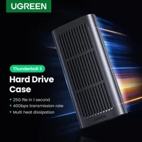 ugreen ssd case 40gbps m 2 hard disk case thunderbolt 3 speed for samsung wd kingston pcie nvme external hard drive m 2 ssd case