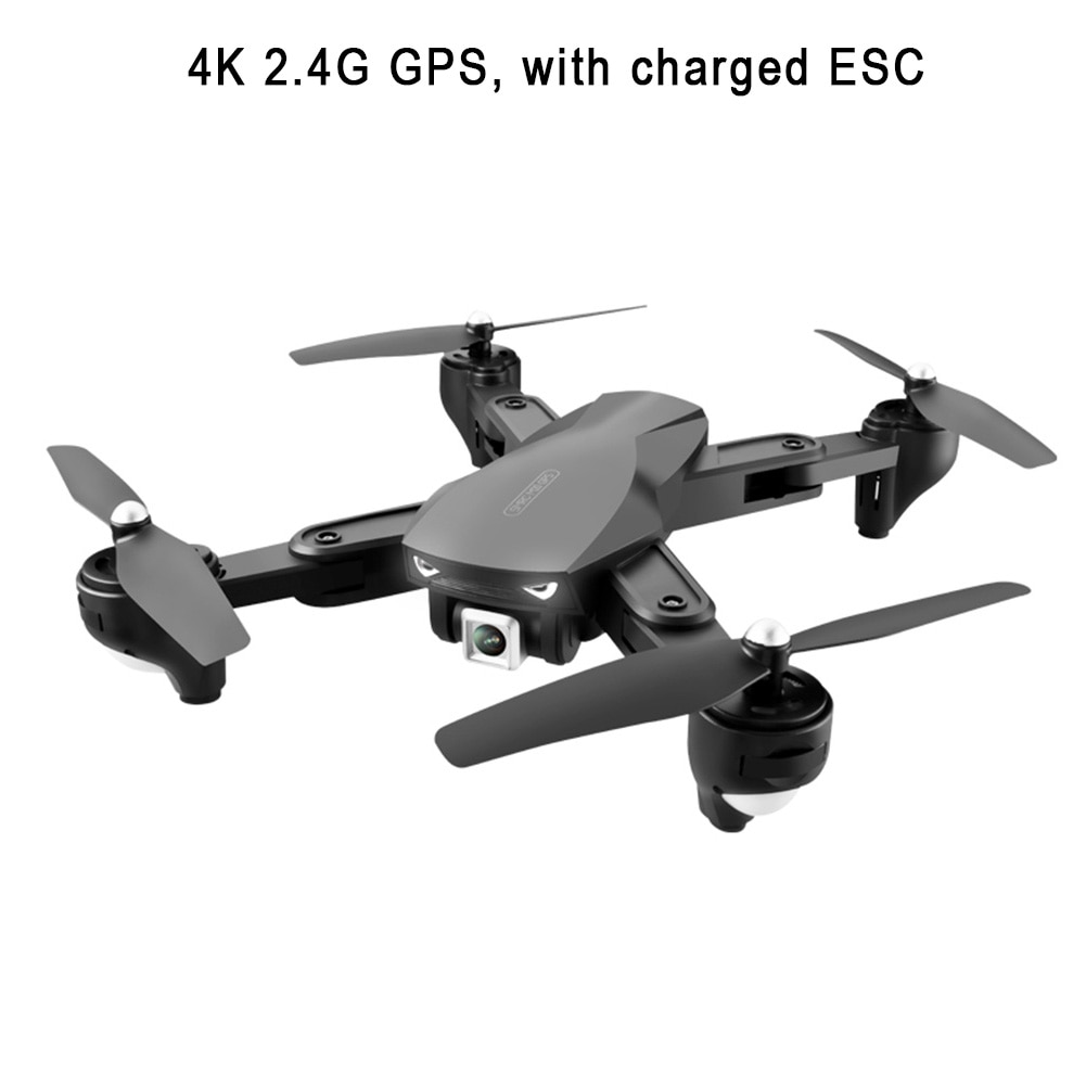 Gran Angular 3D voltear altitud Hold Outdoor Mini portátil trayectoria vuelo HD cámara Control de voz FPV WiFi GPS Drone plegable
