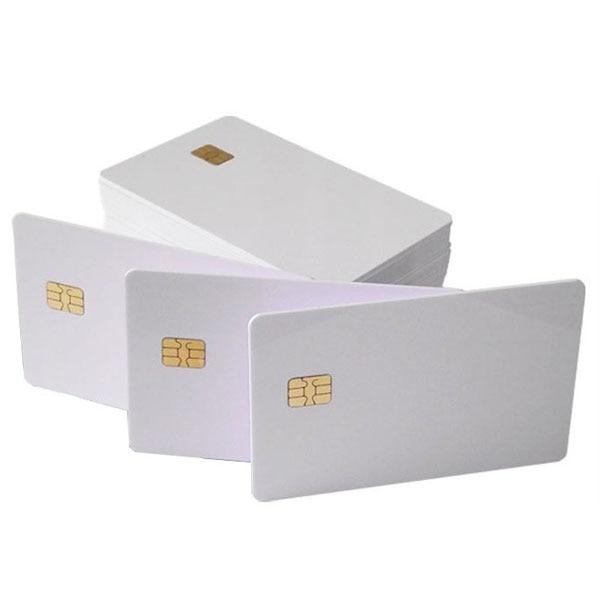 500 pces ic card ,smart card ,chip 4442 card, tipo de contato ic card, amplamente utilizado em sistemas de consumo