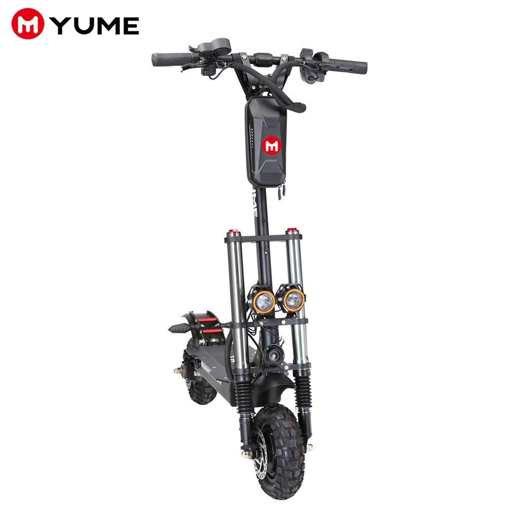 YUME Y10 52 فولت 2400 واط المزدوج موتور E-سكوتر مع 10