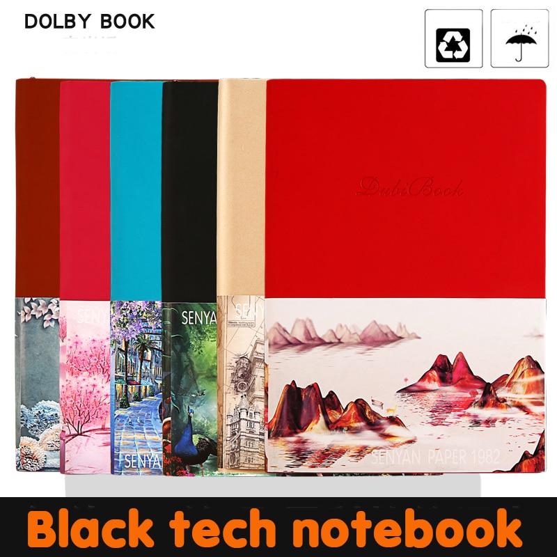 2020 Creative Smart Backup Reusable Erasable A5 Notebook Moriwa Paper Waterproof Paper Pocket Diary Office School Drawing Gift