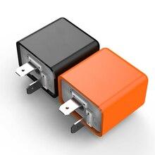 12V 2 Pin LED Flasher ความถี่ Relay เปิดไฟสัญญาณรถจักรยานยนต์ Fix รถจักรยานยนต์ Flasher หลายป้องกันปลอดภัย