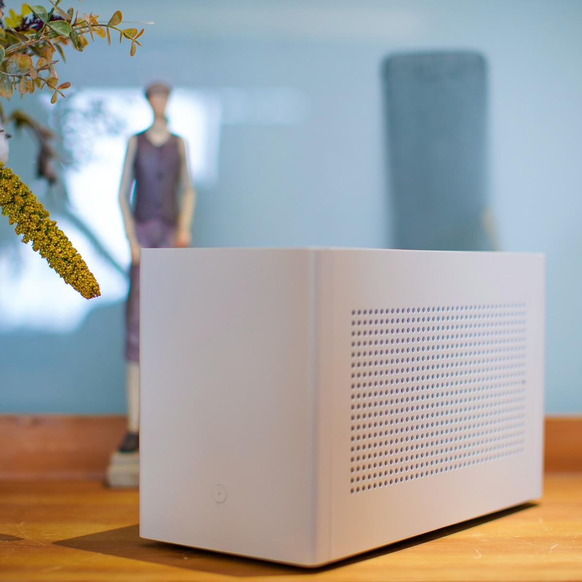 A4v2 itx mini caso a4 shassis suporta 240/280 água-de refrigeração sfx fonte de alimentação (com cabo de extensão)