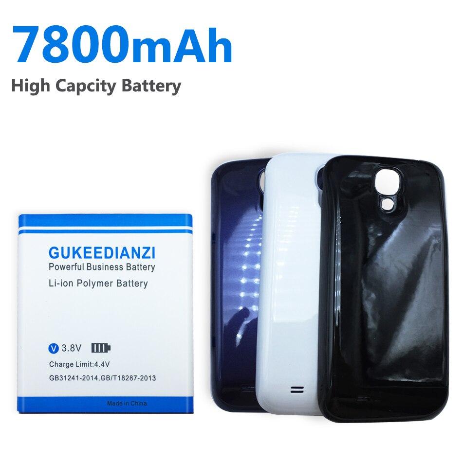 GUKEEDIANZI-بطارية بديلة للهاتف ، 7800 مللي أمبير ، B600BE ، B600BC ، لهاتف Samsung GALAXY S4 ، SIV ، I9500 ، I9505