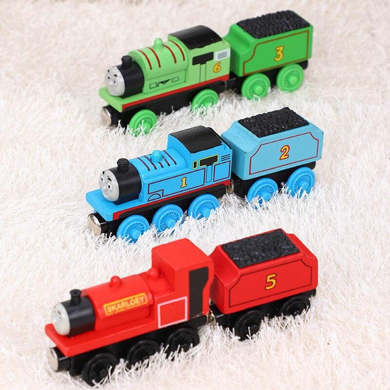 Thomas y amigos Thomas, trenes de juguete de madera, s Gordon Henry Duncan, Mini trenes de juguete de madera, trenes de juguete Thomas, regalo para niños