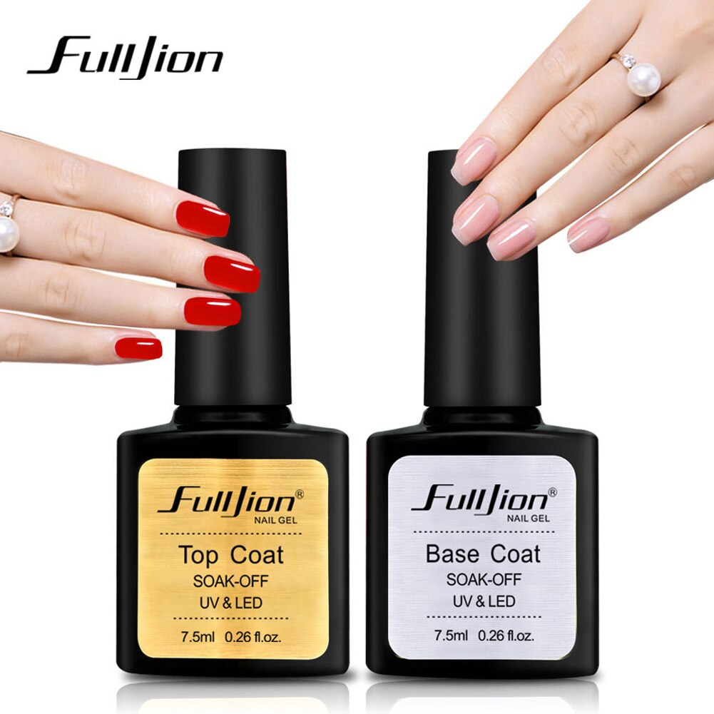 Best Hot Sale Base/Top Coat Transparent Nail Art Gel UV LED Soak Off Long Lasting Primer Nail Manicure Varnish NShopping