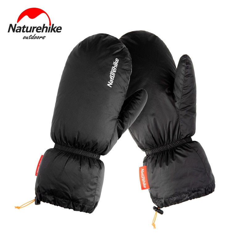Naturehike Goose Down Gloves For Outdoor Warmth Skiing Cold-proof Mitten Gloves Waterproof  Winter S