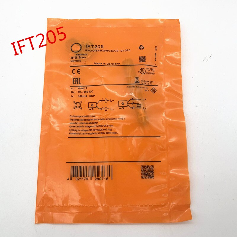 Ift200 ift201 ift202 ift205 novo sensor indutivo de alta qualidade