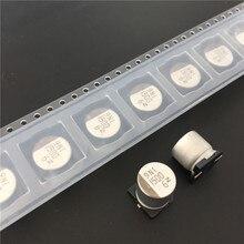 10pcs 1500uF 6.3V NACZ series 10x10.5mm 6.3V1500uF Chip type SMD Audio Electrolytic Capacitor