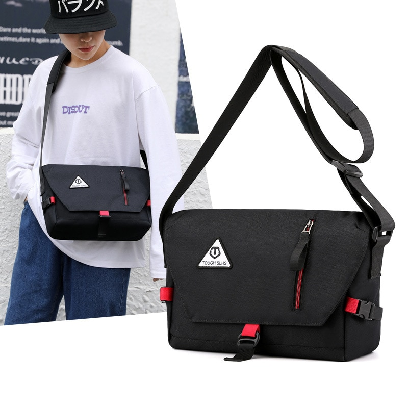 Nindot Nylon Shoulder Bags Men Tote Messenger Bags Strong Fabric Casual Leisure New Style Crossbody Bags 2020 Multiple Pockets