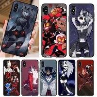 helluva boss phone case for iphone case 5 5s se 6 6s 7 8 11 12 x xs xr pro plus max mini cover
