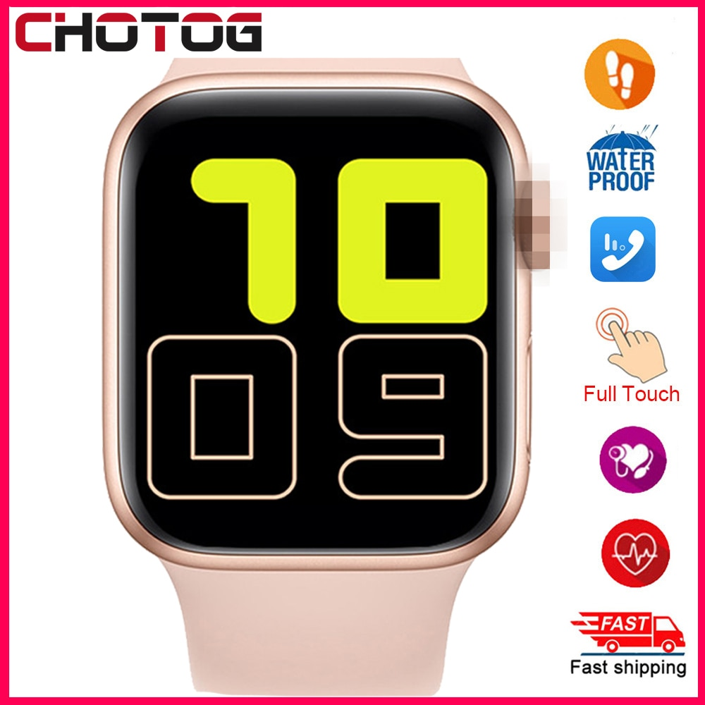 2020 Smart Watch Men Full Touch Waterproof Smartwatch Blood Pressure Fitness Tracker Watch Women WhatsApp Clock For Android IOS