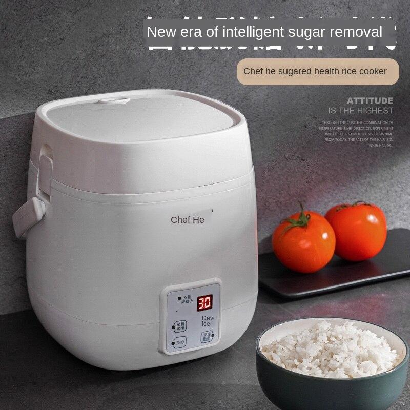 1.2l mini arroz deglycosilation fogão automático arroz sopa multi-funcional inteligente cuidados de saúde arroz