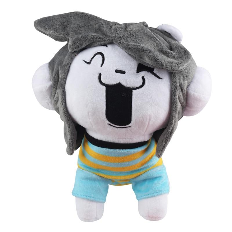 26cm Undertale Temmie Plush Toys Undertale Sans Dog Temmie Plush Doll Toy Soft Stuffed Animals Toys for Children Kids Xmas Gift недорого