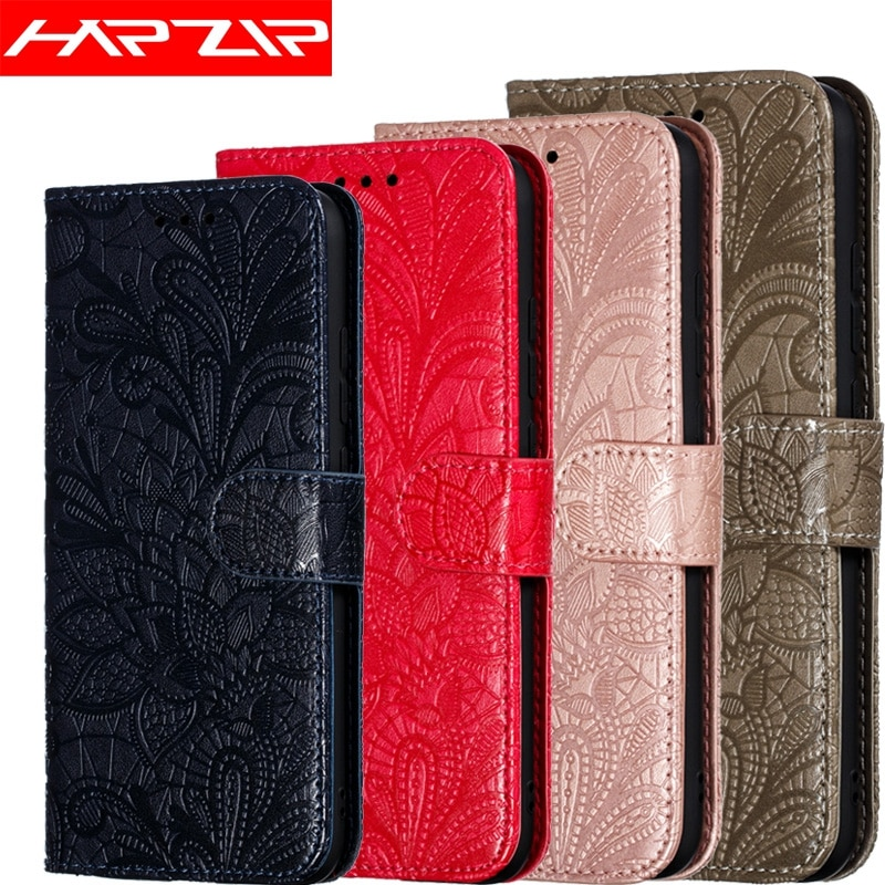 3D Flor Capa de Couro Da Aleta Para O Huawei Honor 8S 8A 8C 8X V20 Companheiro 20 7C 7A Pro 10 P30 Y9 Y6 Y7 2019 Y5 2018 JAT-L29 Caso Lite