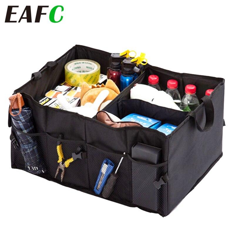 Auto Trunk Organizer Umweltfreundliche Super Starke & Durable Faltbare Fracht Lagerung Box Für Auto Lkw SUV Stamm Box Verstauen, Ordnen    -