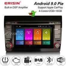 3071 Car stereo for Fiat Bravo 2007--2014 DAB+OBD DVD Android DSP Carplay GPS Radio Autoradio Multimedia player 2 DIN
