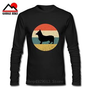 Funny Not Today Corgi Dog Creative Vintage 3D T Shirts Man Short Sleeve Clothes Big Size Tee Shirt 100% Cotton Crew Neck T-Shirt