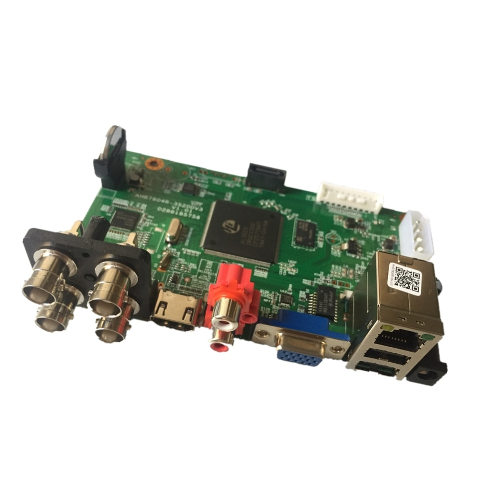SSICON 4 canales 5en1 seguridad 5M-N CCTV Cámara DVR tablero Hybird NVR para 5MP AHD CVI TVI cámara analógica IP 4CH Video grabadora