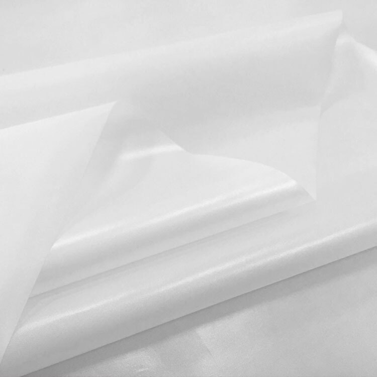 Tela impermeable para chubasquero ducha para cortinas o delantales tela, rojo, blanco, negro, púrpura, azul, verde, gris, por metro, 147cm de ancho