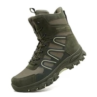 military boots male martin combat combat combat autumn and winter high top outdoor climbing plus size desert boots