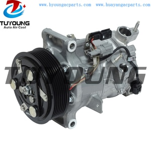 Sanden PXC14 automotiveairconditioningcompressor For Infiniti Q50 3.7i V6 2014 - 92600-4GB0A Four Seasons 97588 98588