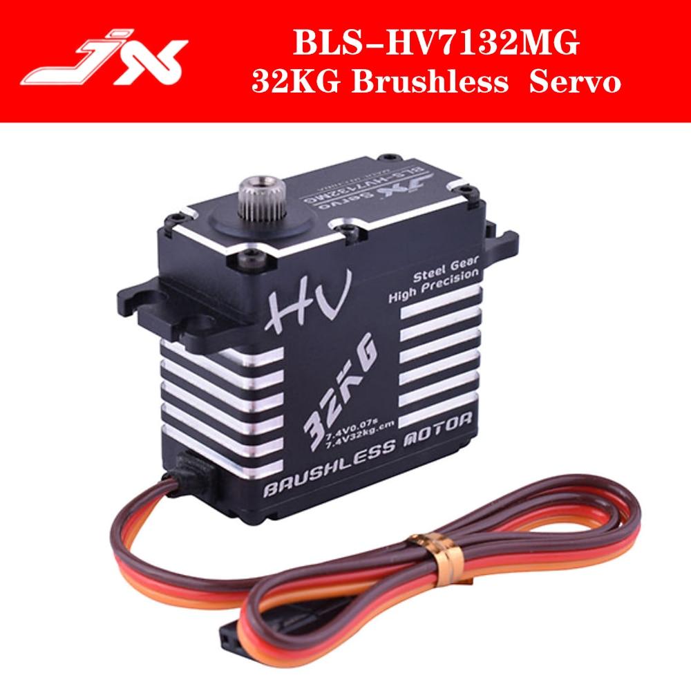 JX Servo BLS-HV7132MG 32KG 7.4V 0.07sec High Speed Precision Steel Gear CNC Digital Brushless For RC Car Robot Airplane Drone