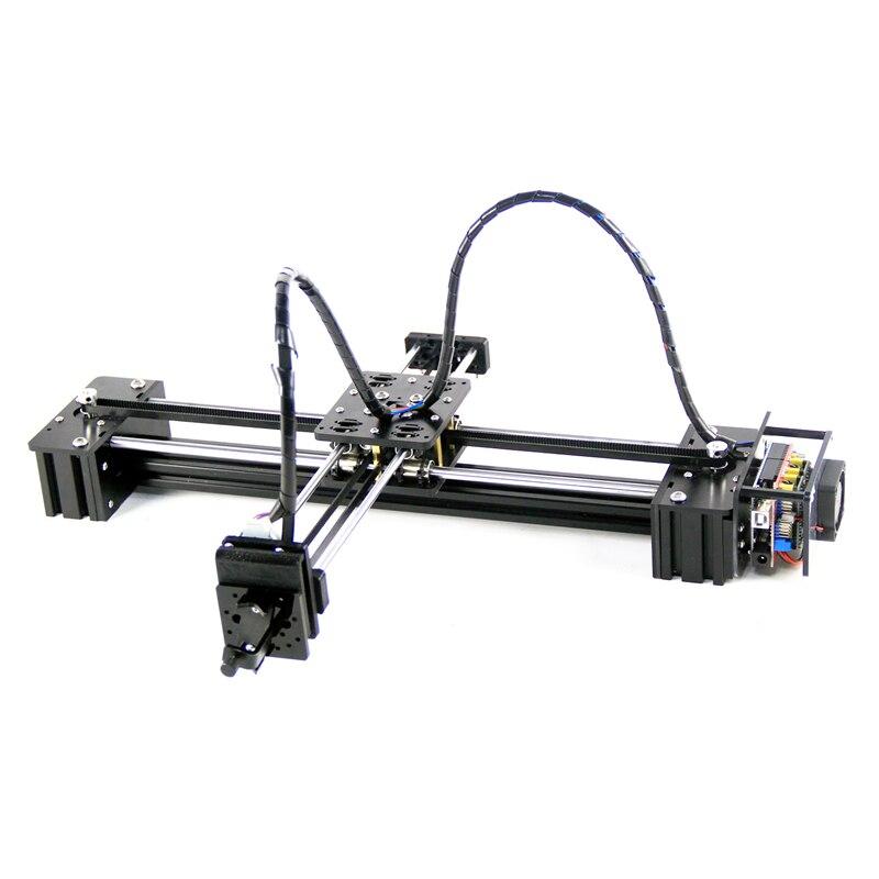Новый diy скользящий 3 оси шаговый двигатель drawbot ручка рисовальная Машина Письмо corexy XY-плоттер запись CNC V3 щит поддержка лазера