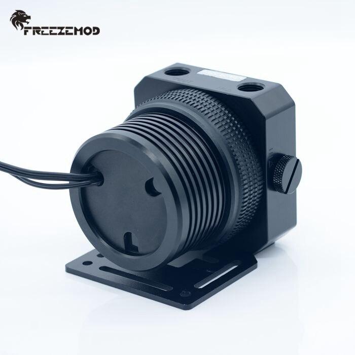 Freezemod doméstico d5 pc bomba de refrigerador de água armadura de metal conjunto de suspensão magnética pwm rgb aura de refrigeração de água. PU-GPD5