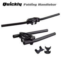 Велосипедная ручка 25,4 31,8*620/680 мм, алюминиевый сплав, ручка для горного велосипеда, быстрый складной велосипедный руль для трюков