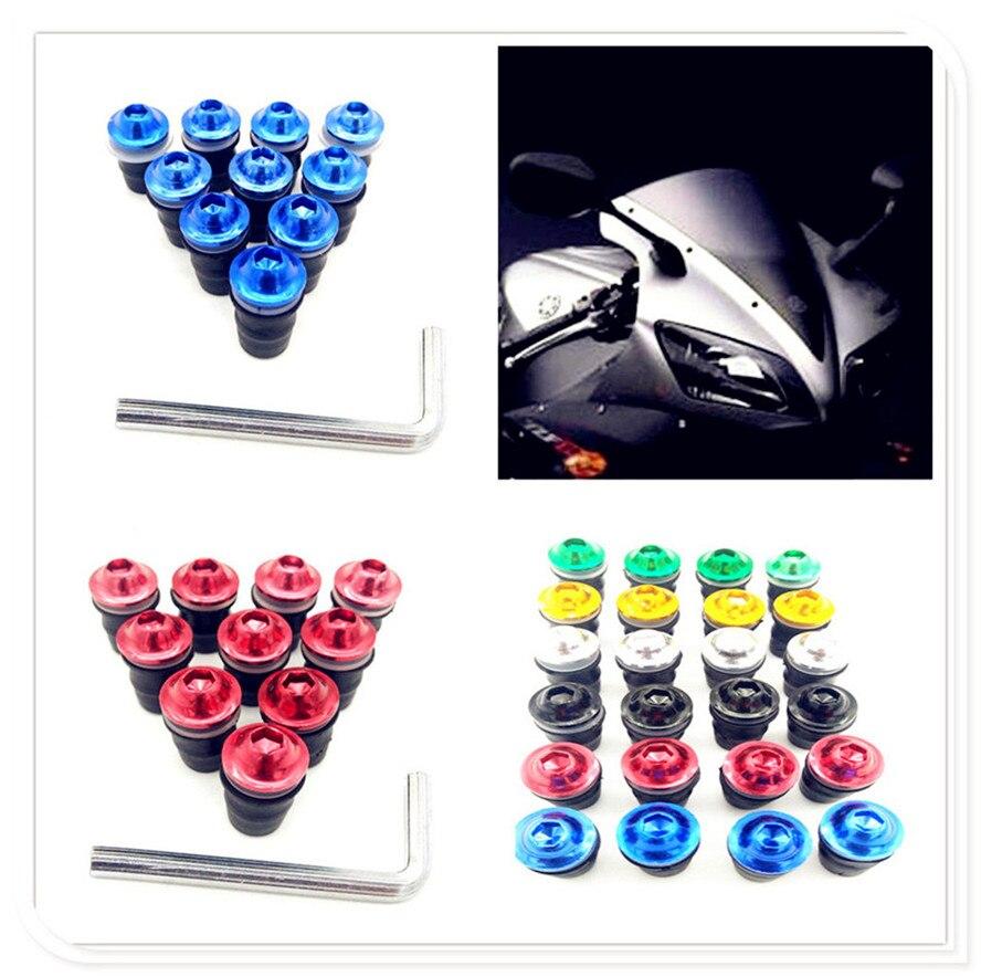 Kit de tornillos para parabrisas de motocicleta, tornillos para Ducati ST4 S ABS 748 750SS 900SS 1000SS 996 998 B S R