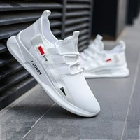 2020 mesh shoes men casual comfortable breathable sneakers men lace up lightweight walking man shoes zapatillas hombre nanx232