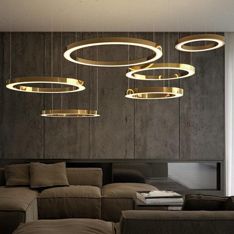 ثريا Led معلقة بتصميم فاخر ، تصميم حديث ، إضاءة سقف زخرفية ، مثالية للفنادق.