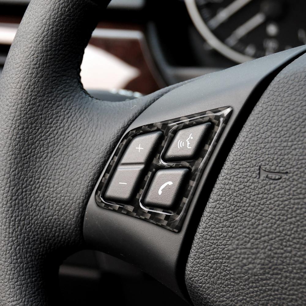 AliExpress - NEW Car Steering Wheel Decoration Cover Trim Frame Sticker For BMW 3 Series E90 E92 E93 2005-2012 Car Accessories