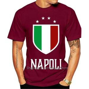 2021 Leisure Fashion T-shirt Verãomanga Curta Plus Size Print Men verão napoli, itália-italiano Italia De Design