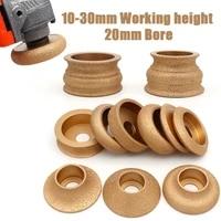 1pc bore 20mm dia 3inch 75mm dry vacuum brazed diamond grinding wheel for marble edging demi bullnose edge profile grinding disc