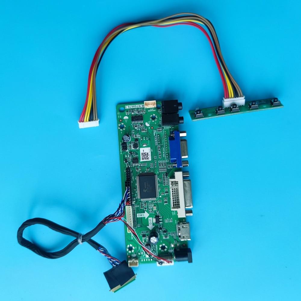 عدة ل LP156WHB VGA تحكم مجلس 1366X768 LVDS 40pin DVI الصوت لوحة الشاشة 15.6