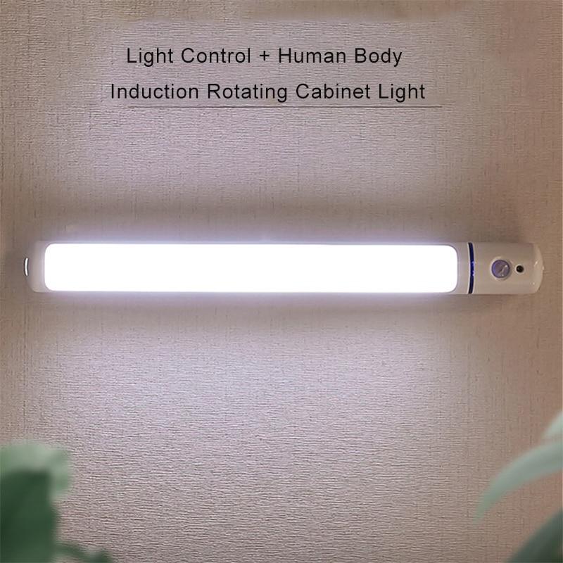 Ночник с датчиком движения, светодиодный с USB управлением, декоративная лампа для гардероба, кухни, кабинета, лестницы, коридора