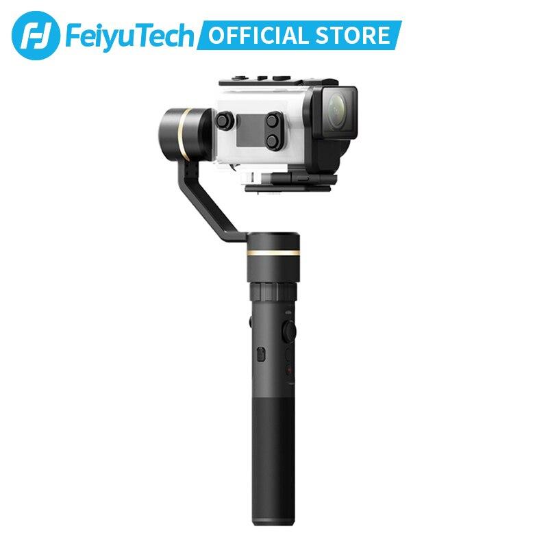 FeiyuTech G5GS مثبت أفقي محمول باليد لسوني AS50 AS50R سوني X3000 X3000R عمل الكاميرا الروسية