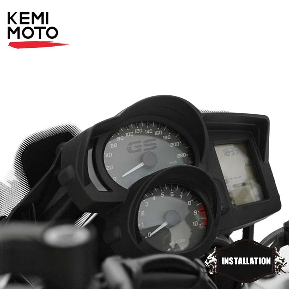 Velocímetro da motocicleta Tacômetro Capa Protetor de Sombreamento para R1200R F800GS F700GS F650GS ADV Adventure 2013-2018 F800GT