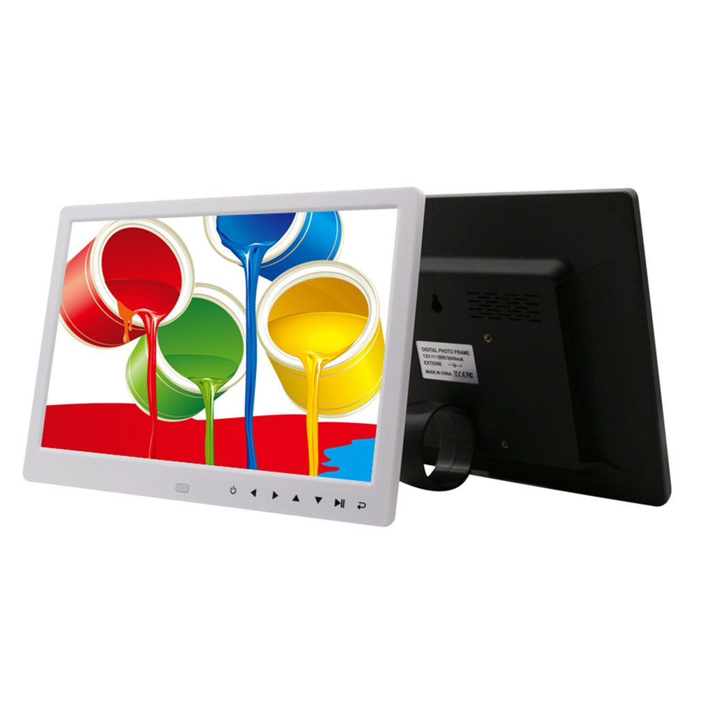 Digital Picture Frame 12 inch Electronic Digital Photo Frame IPS Display with IPS LCD 1080P MP3 MP4 Video Player enlarge
