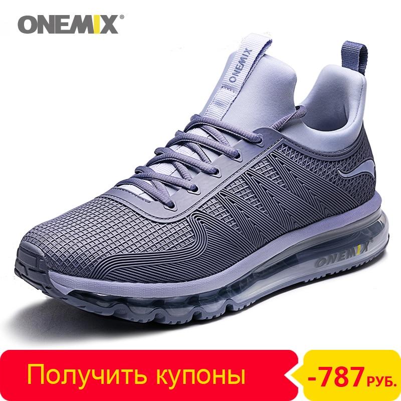 ONEMIX-أحذية ركض رجالية ، أحذية رياضية عالية الجودة ، غير رسمية ، خارجية ، الركض ، وسادة هوائية ، تنس ، لياقة بدنية