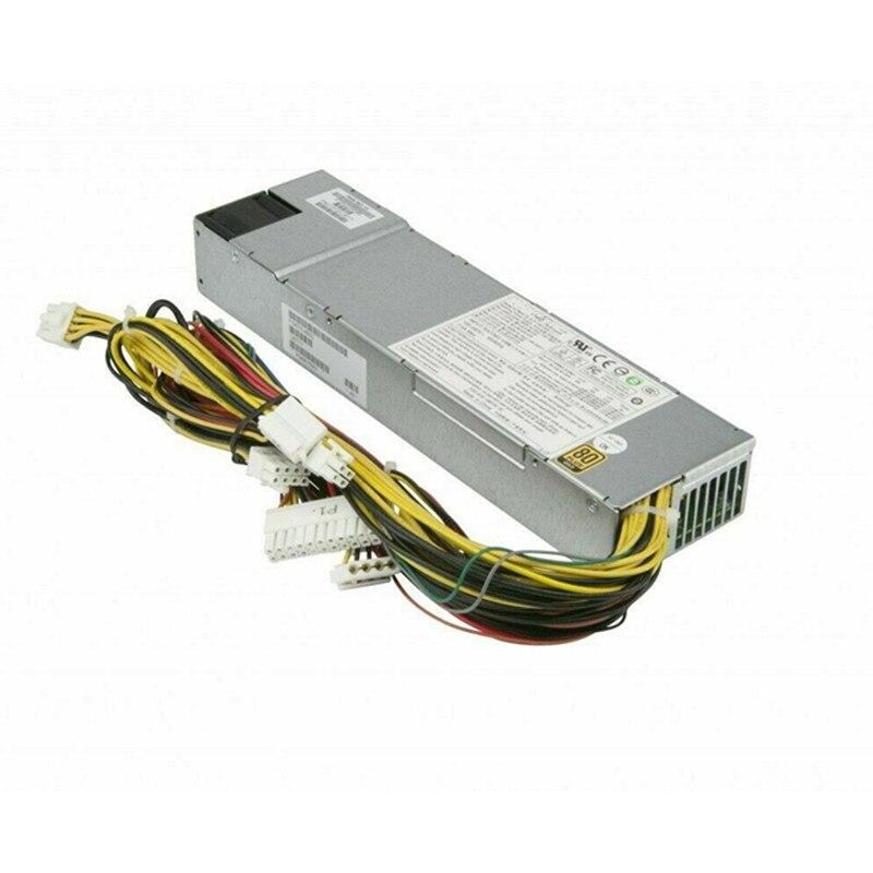 PWS-563-1H 560W 1U الخادم PSU/امدادات الطاقة 80 + زائد الذهب PWS-563-1H 24Pin 560W 1U الخادم امدادات الطاقة
