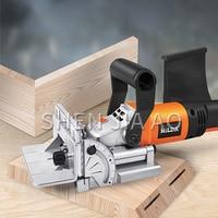 1PC Handheld Woodworking Shovel Machine MIK-ZK5-100 Wood Board Splicing Slotting Machine Board Biscuit Splicing Machine 220V